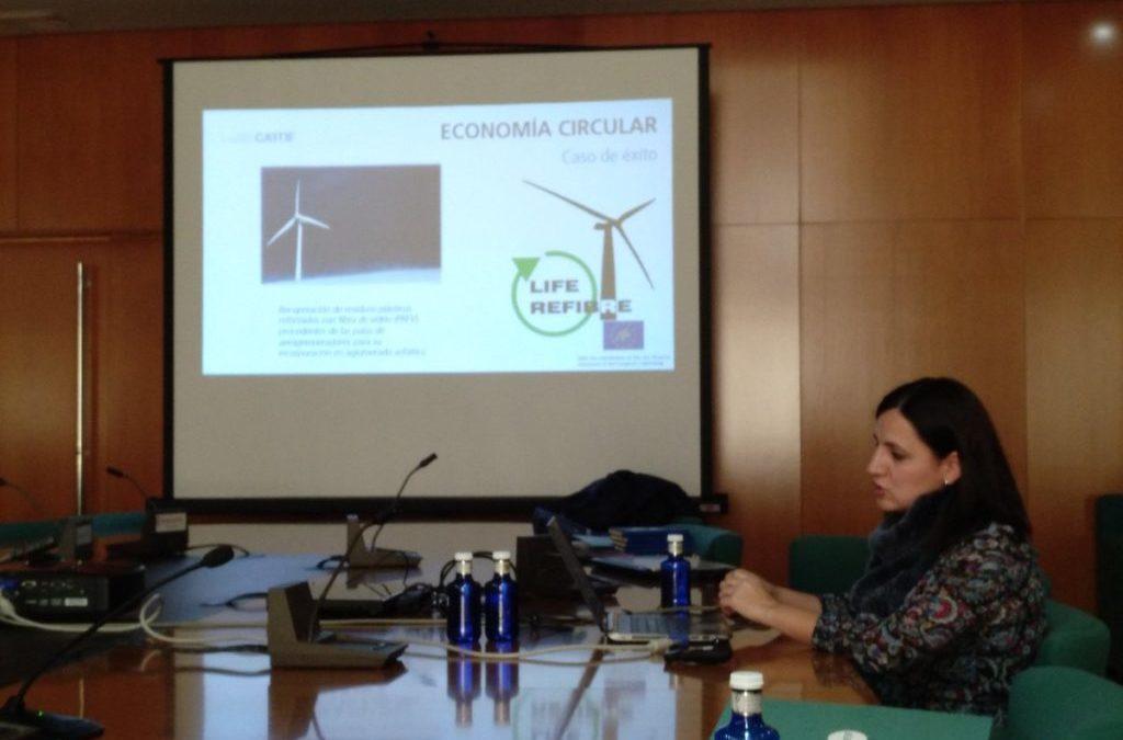LIFE REFIBRE presente en la Jornada 'Gestión digital de la producción y aprovechamiento de residuos'