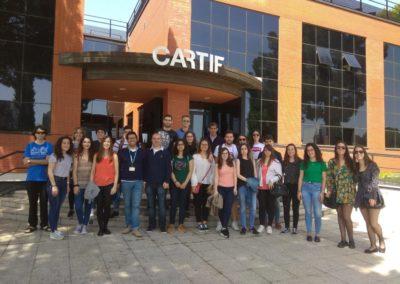 University Salamanca students