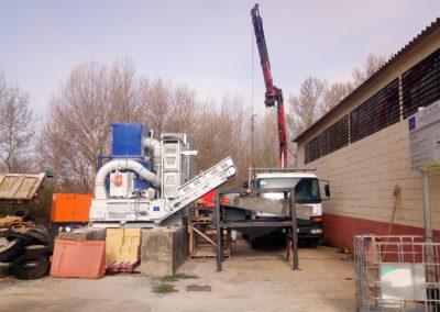 Acción B.2. Construcción prototipo de reciclado
