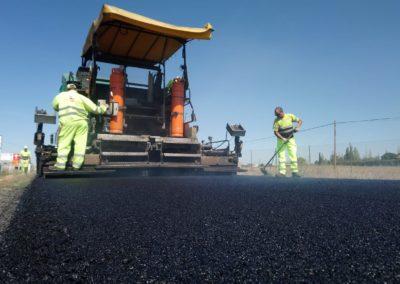 Acción B.4. Construcción tramo demostrador de carretera