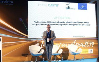 LIFE REFIBRE in Innovacarretera 2019